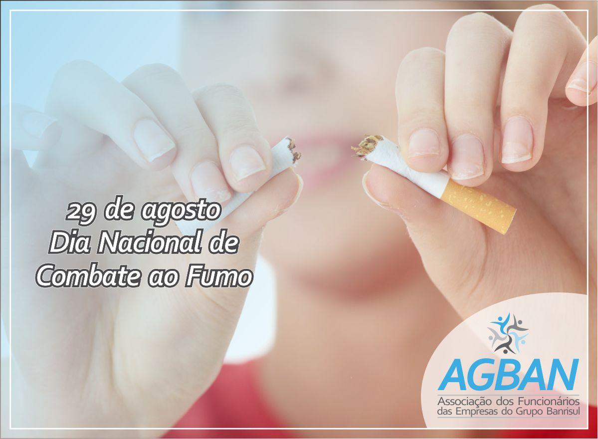 29/08: Dia Nacional de Combate ao Fumo