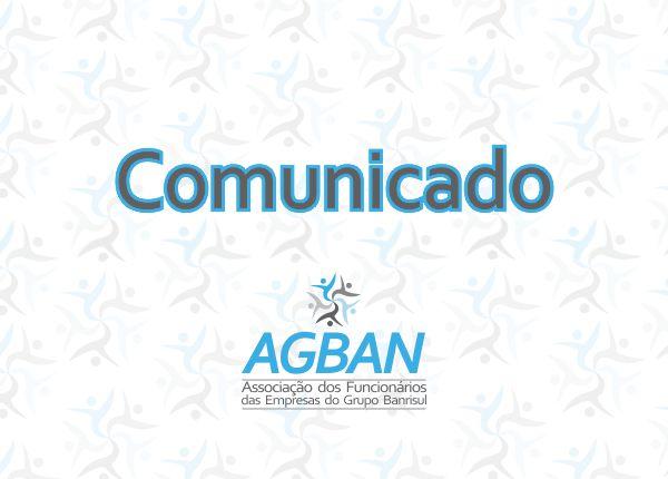 AGBAN INSCREVE CHAPA PARA AS ELEIÇÕES 2019 DA FUNDAÇÃO BANRISUL