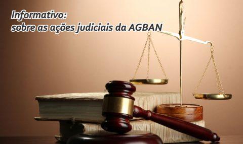 Ações judiciais da AGBAN: